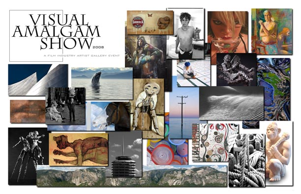 Visual Amalgam Show: The Film Industry Artist Gallery Event